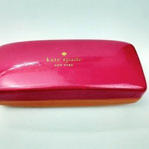 Kate Spade hard case eyeglass sunglass case